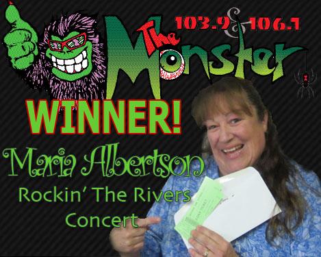 MONSTER WINNER MARIA ALBERTSON