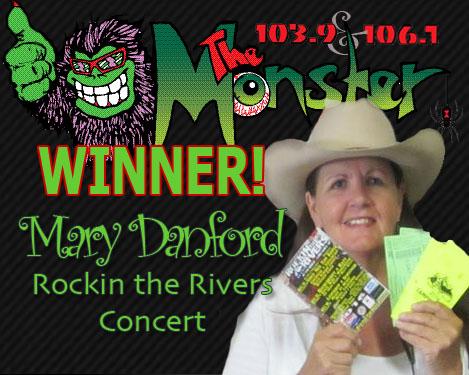 MONSTER WINNER MARY DANFORD