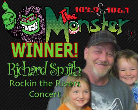 MONSTER WINNER RICHARD SMITH