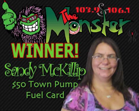 WINNER SANDY McKILLIP